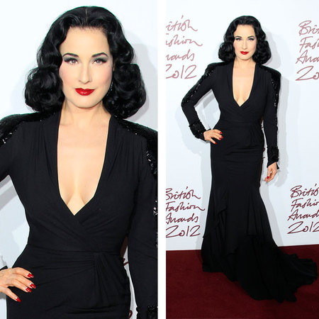 dita british fashion awards