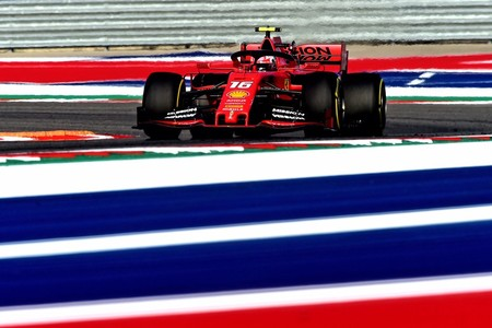 Leclerc Austin F1 2019