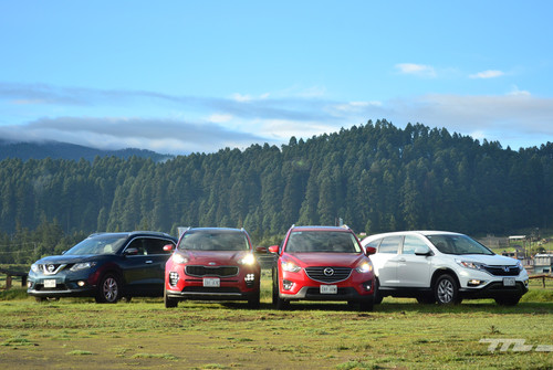 Comparativa: KIA Sportage vs Mazda CX-5 vs Honda CR-V vs Nissan X-Trail (II)
