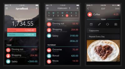 Spendbook, un elegante gestor de gastos para tu iPhone