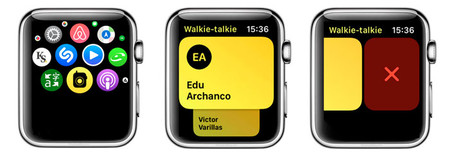 Eliminar Contacto Walkie Talkie En Apple Watch