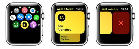Eliminar Contacto Walkie Talkie En Apple Watch