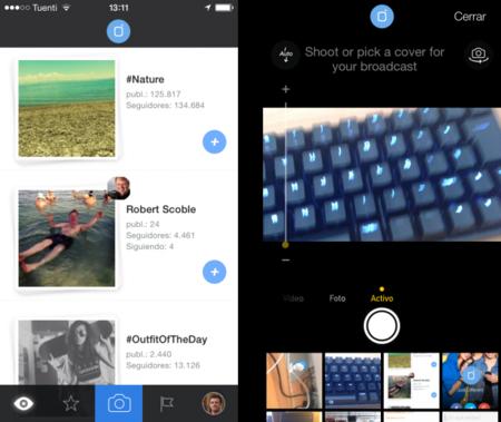 Mobli, retransmite vídeo en directo desde tu móvil fácilmente