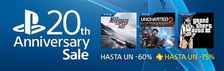 La venta PlayStation Anniversary tiene más de 60 títulos con descuento