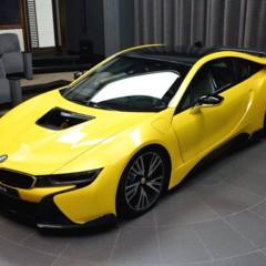 Foto 8 de 16 de la galería bmw-i8-amarillo en Motorpasión