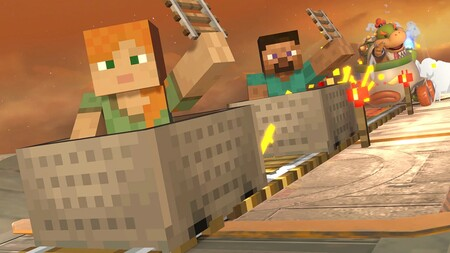 Super Smash Bros Ultimate Minecraft 03