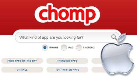Apple compra el buscador de aplicaciones Chomp para mejorar la App Store