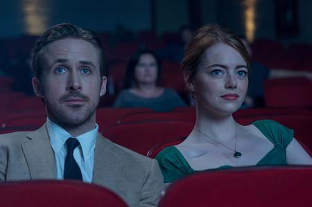 Ryan Gosling Y Emma Stone En La Ciudad De Las Estrellas