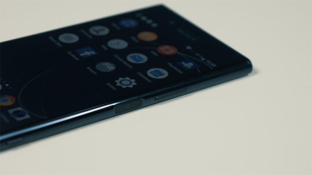 Xperia XZ Premium sensor de huellas