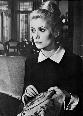 Catherine Deneuve en Belle de Jour de Luis Buñuel.