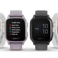 Garmin Venu y Garmin Venu Sq, 'smartwatches' competentes con GPS, pagos móviles y batería de hasta seis días
