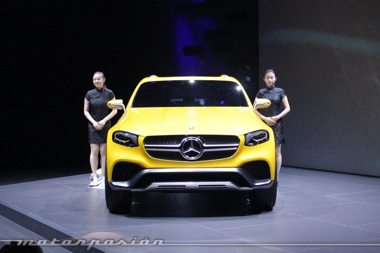 Foto de Mercedes-Benz Concept GLC Coupé (Premiere en Shangai) (12/26)