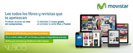 Movistar impulsa Nubico, el Spotify de los libros y revistas, con tres meses gratis en todas sus tarifas