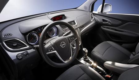Opel Mokka vista interior