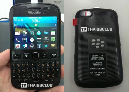Se filtra BlackBerry 9720 con BlackBerry OS 7