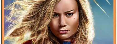 El fanart de 'Capitana Marvel' ha llenado las redes sociales con la cara de Brie Larson