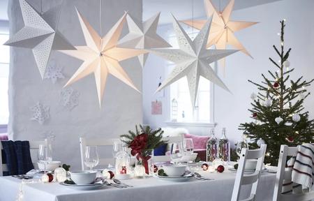 Estrellas de Navidad de Ikea