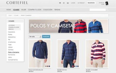 Cortefiel abre tienda online