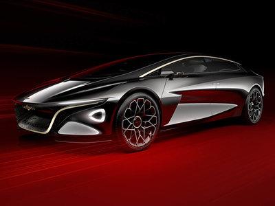 El Aston Martin Lagonda Vision Concept pone rumbo a los eléctricos de superlujo de la marca
