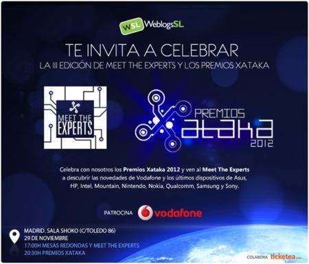 Ya te puedes apuntar para venir a los Premios Xataka 2012
