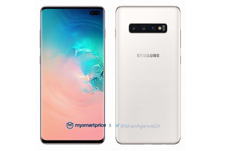 Samsung Galaxy S10 Plus Luxurious White