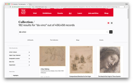 Collection The Metropolitan Museum Of Art 2018 03 13 13 40 46