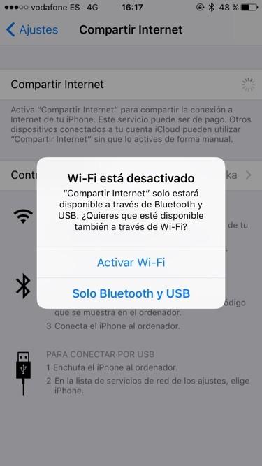 Activar WiFi