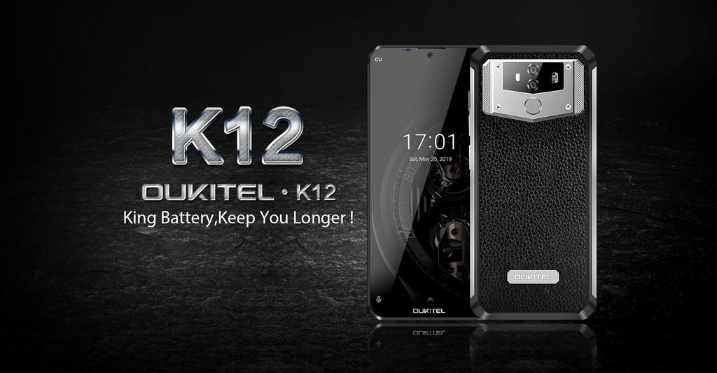Oukitel K12: su batería de 10.000 mAh con carga rápida promete 7 días de autonomía