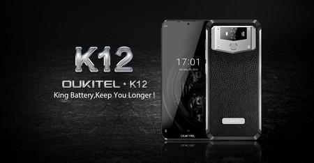 Oukitel K12: su batería de 10.000 mAh con carga rápida promete siete días de autonomía