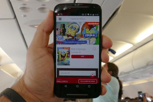 Probamos Immfly, el sistema para recibir contenido multimedia del avión en tu propio tablet o smartphone