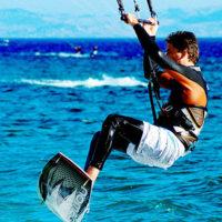 Opciones para estar en forma en verano: Kitesurf