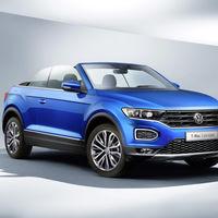 Volkswagen T-Roc Cabrio 2020, la marca alemana se atreve en el segmento de los SUV descapotables