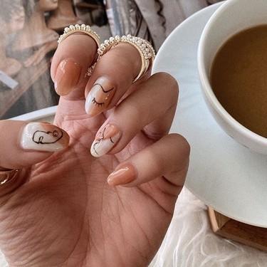 13 manicuras artísticas y muy trabajadas de Instagram que ahora sí tenemos tiempo de hacernos en casa