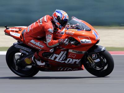 Casey Stoner entrenamientos GP China 2008