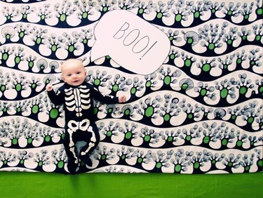 La foto de tu bebé: Martín celebra Halloween