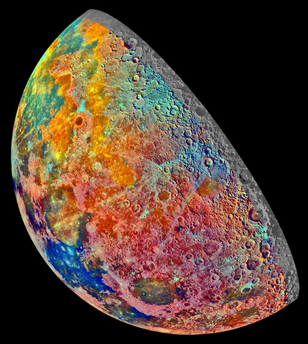 Luna False Color