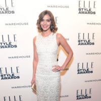 Arizona Muse Elle Style Awards 2014 red carpet