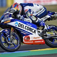 Jorge Martín se marca el mejor crono de Moto3 en Mugello y Antonelli una terrible caída