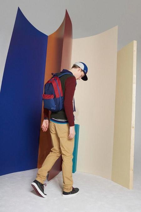 Lacoste L!ve regresa a la universidad en su colección de invierno