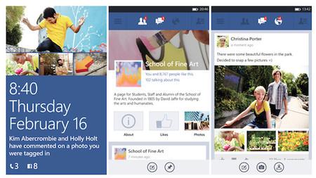 La App beta de Facebook se actualiza, para dar soporte a Windows Phone 7