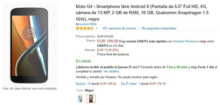 Moto G4 Amazon