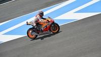 Marc Márquez el más rápido en los test tras el Gran Premio de España
