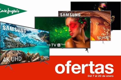 Ofertas en smart TVs en las Rebajas de El Corte Inglés: 33 modelos de LG, Panasonic, Samsung o Sony rebajados hasta en un 43%