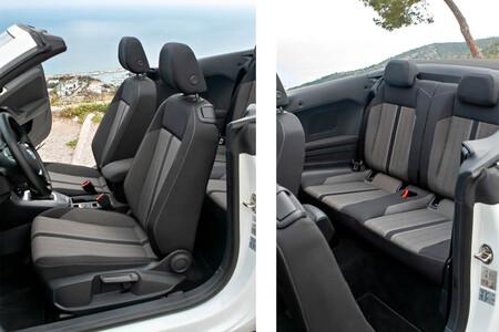 Volkswagen T Roc Cabrio Prueba habitabilidad