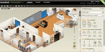 Homestyler, una buena herramienta para diseñar tu casa