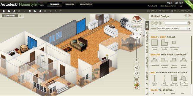 Autodesk Homestyler - 1