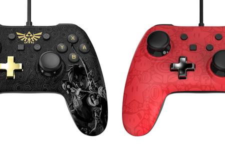 Switch recibirá dos nuevos mandos clásicos inspirados en Mario y Zelda: Breath of the Wild