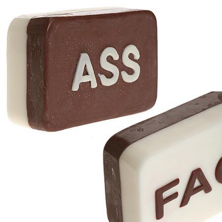 Ass y Face, las dos caras del jabón