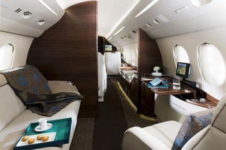 Dassault Falcon 7X Jet y BMW: se acabó el miedo a volar