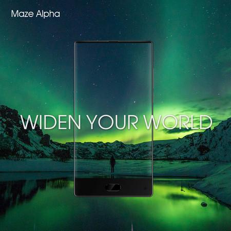 Las pantallas sin marcos llegan a la gama media con este Maze Alpha por 147 euros